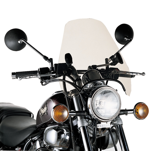 Givi - Universal Motorcycle Windscreens with Specific Fitting Kit - A601