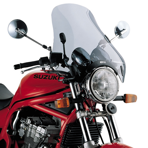 Givi - Universal Motorcycle Windscreens with Specific Fitting Kit - A34+D45