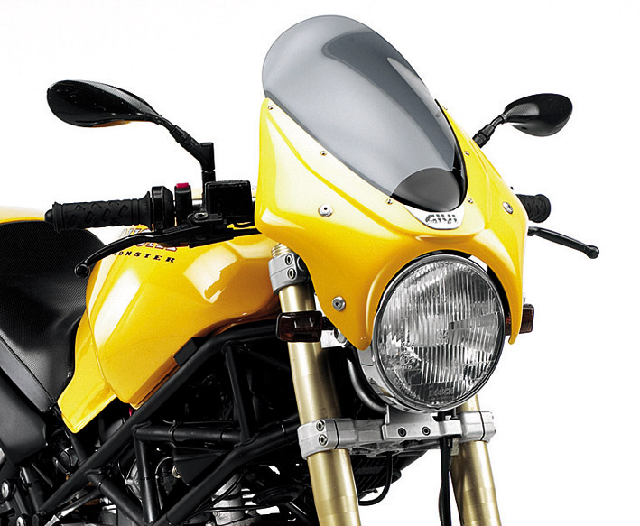 airstars and spoilers Cupolini universali per moto naked A750