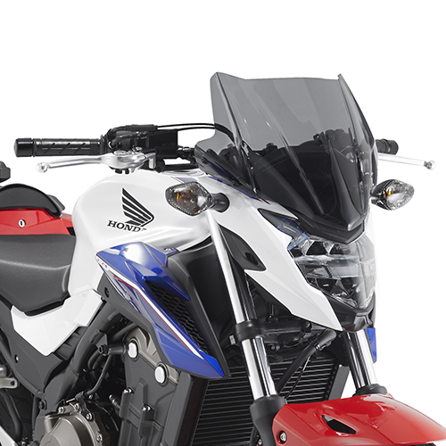 Givi - Naked Bike Fairings with specific fitting kit - Naked Bike Fairings with specific fitting kit