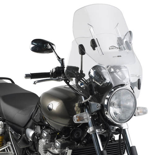 Givi - Universal Motorcycle Windscreens with Specific Fitting Kit - AF49