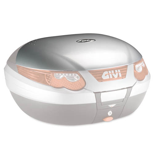 Givi - Cover glatt lackierbar in Fahrzeugfarbe