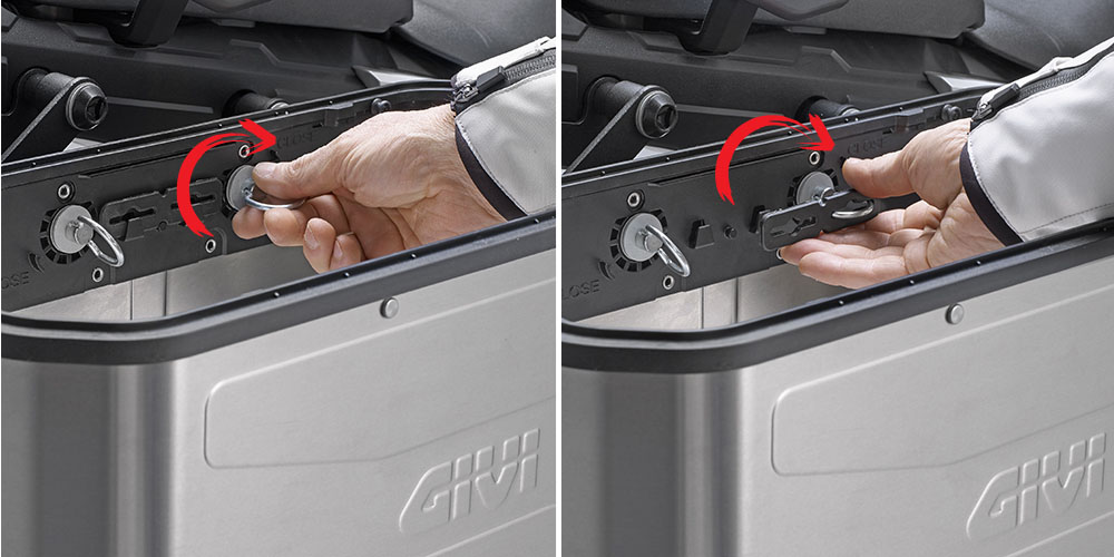 valigie laterali Retro Fit DLM36 TREKKER DOLOMITI