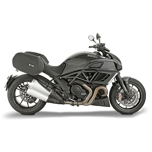 Givi - Saddle bags - 3D600 EASYLOCK