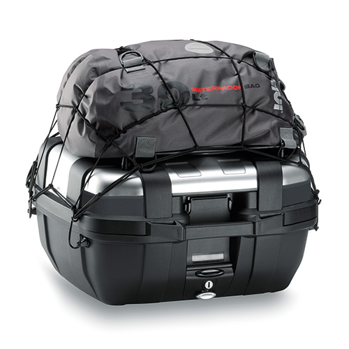 Givi - Four rings kit for T10N elastic net anchor. The rings must be anchored to the case by making four holes of ø10mm