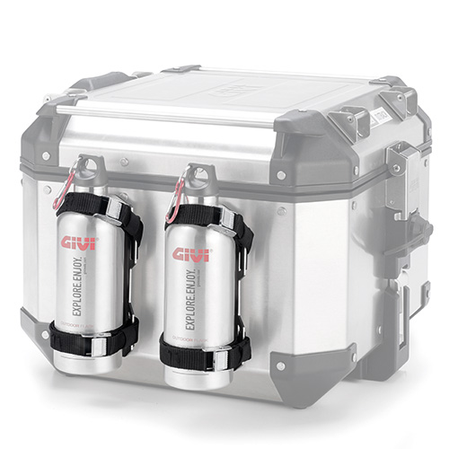 Givi - Support in stainless steel for thermal flask.