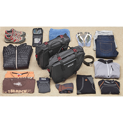 borse moto Saddle Bags GRT708