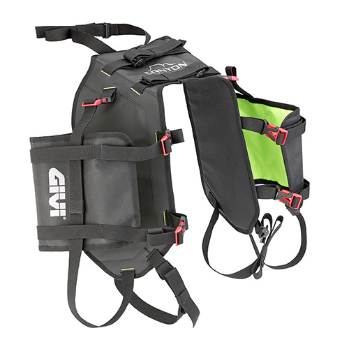 Givi - Borse sella da moto - GRT721 CANYON BASE