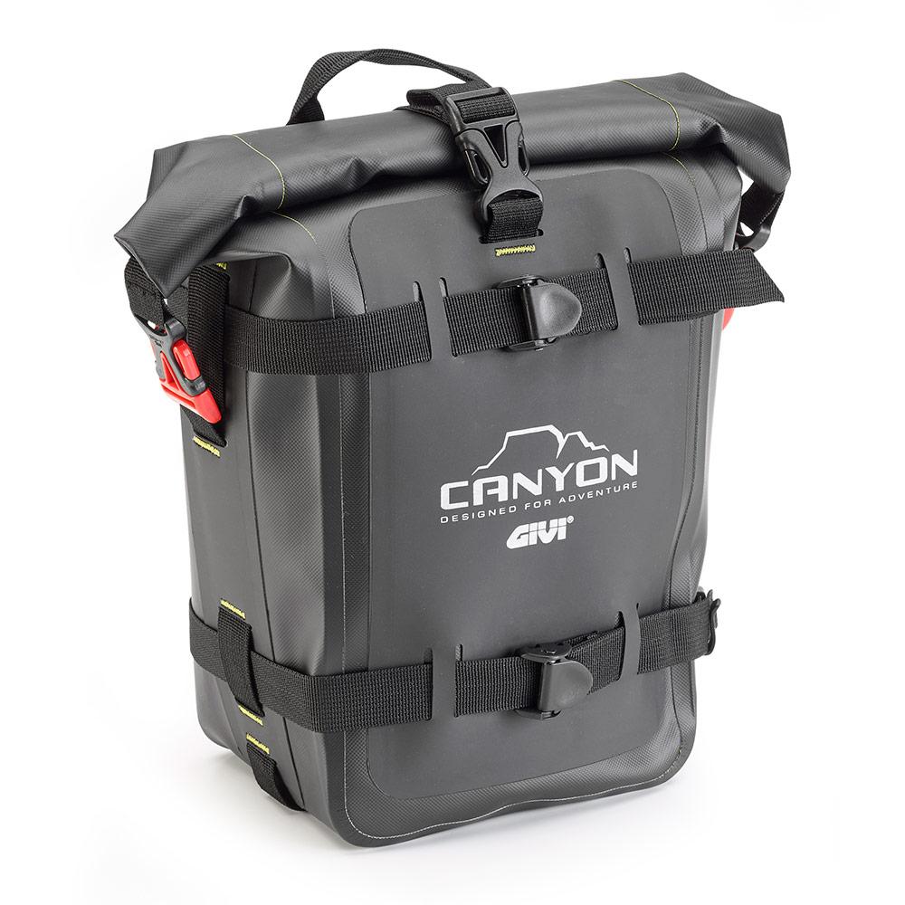 Givi - Borse moto resistenti all\'acqua - Linea Canyon - GRT722