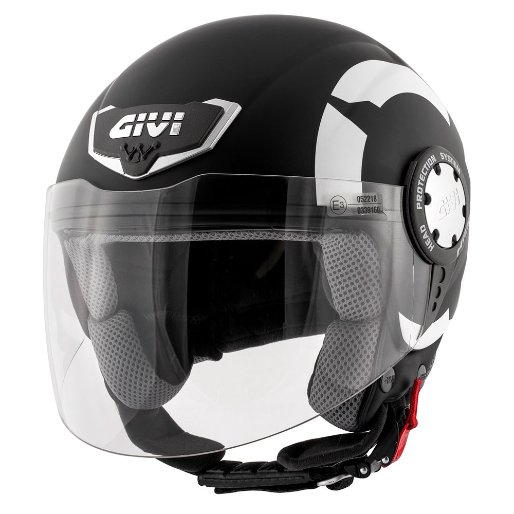 Givi - Demi-Jet Helme - 10.4F STARK