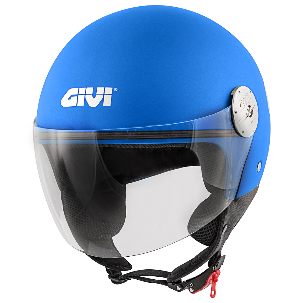 Givi - Caschi Demi Jet per moto e scooter - 10.7 MINI-J SOLID COLOR