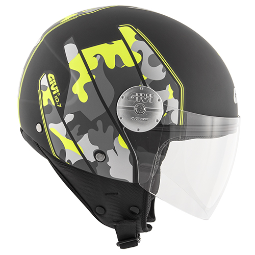 Givi - Demi-Jet Helme - 10.7 MINI-J-GRAPHIC