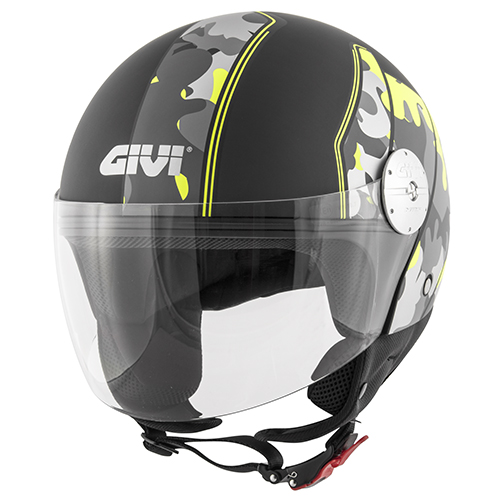 Givi - Caschi Demi Jet per moto e scooter - 10.7 MINI-J-GRAPHIC