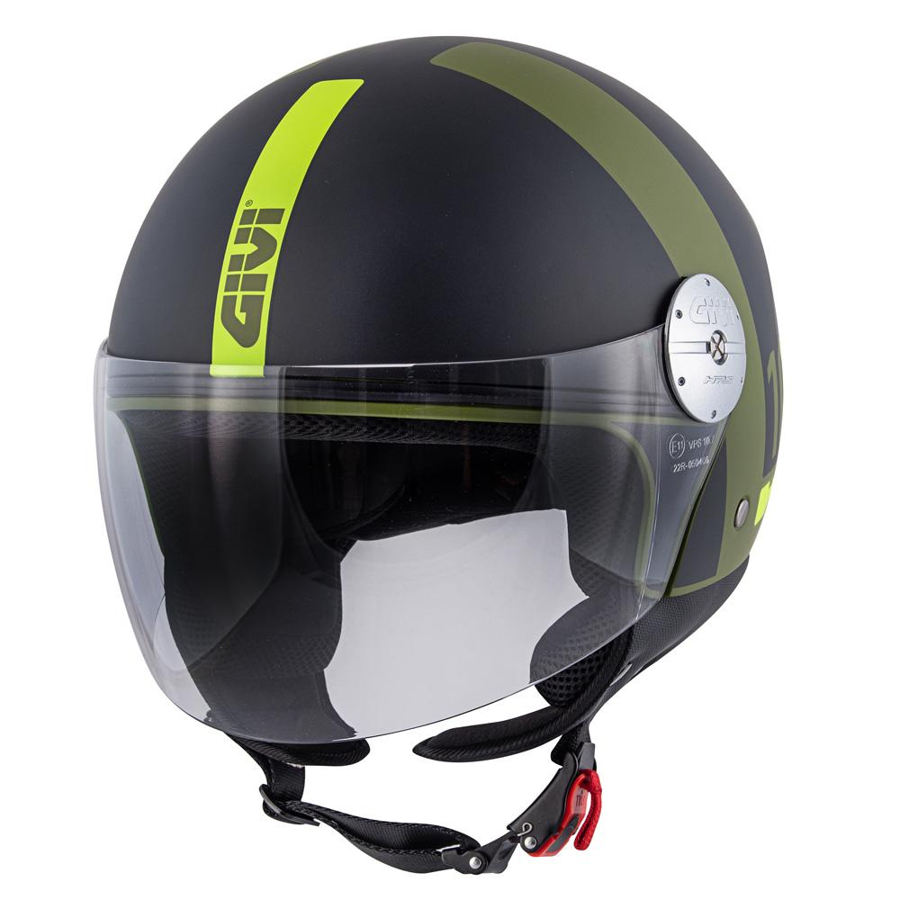 Givi - Caschi Demi Jet per moto e scooter - 10.7 MINI-J CONCEPT
