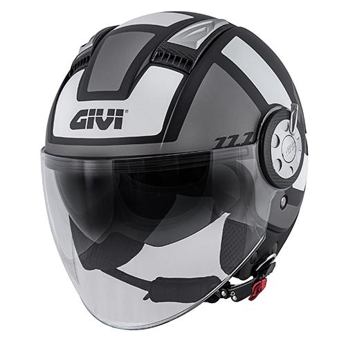 Givi - CLBT Negro mate / titanium / blanco