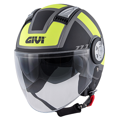 Givi - CLTY matt titanium / schwarz / gelb