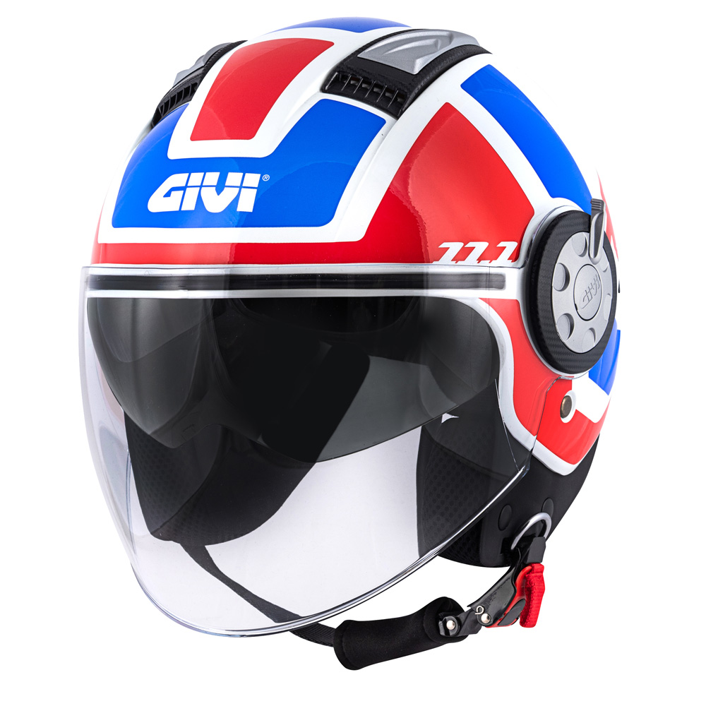 Givi - Caschi Jet per moto e scooter - 11.1 AIR JET-R CLASS