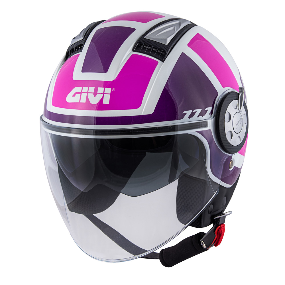 Givi - Caschi Jet per moto e scooter - 11.1 AIR JET-R CLASS LADY