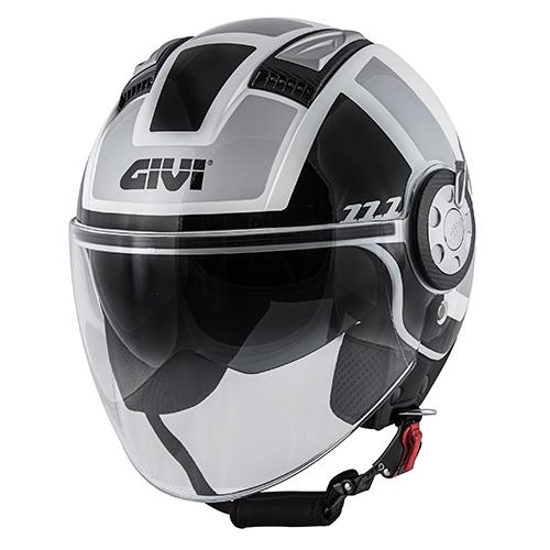 Givi - CLWS weiß / schwarz / silber