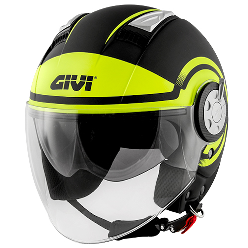 Givi - RDBY Matt black / yellow