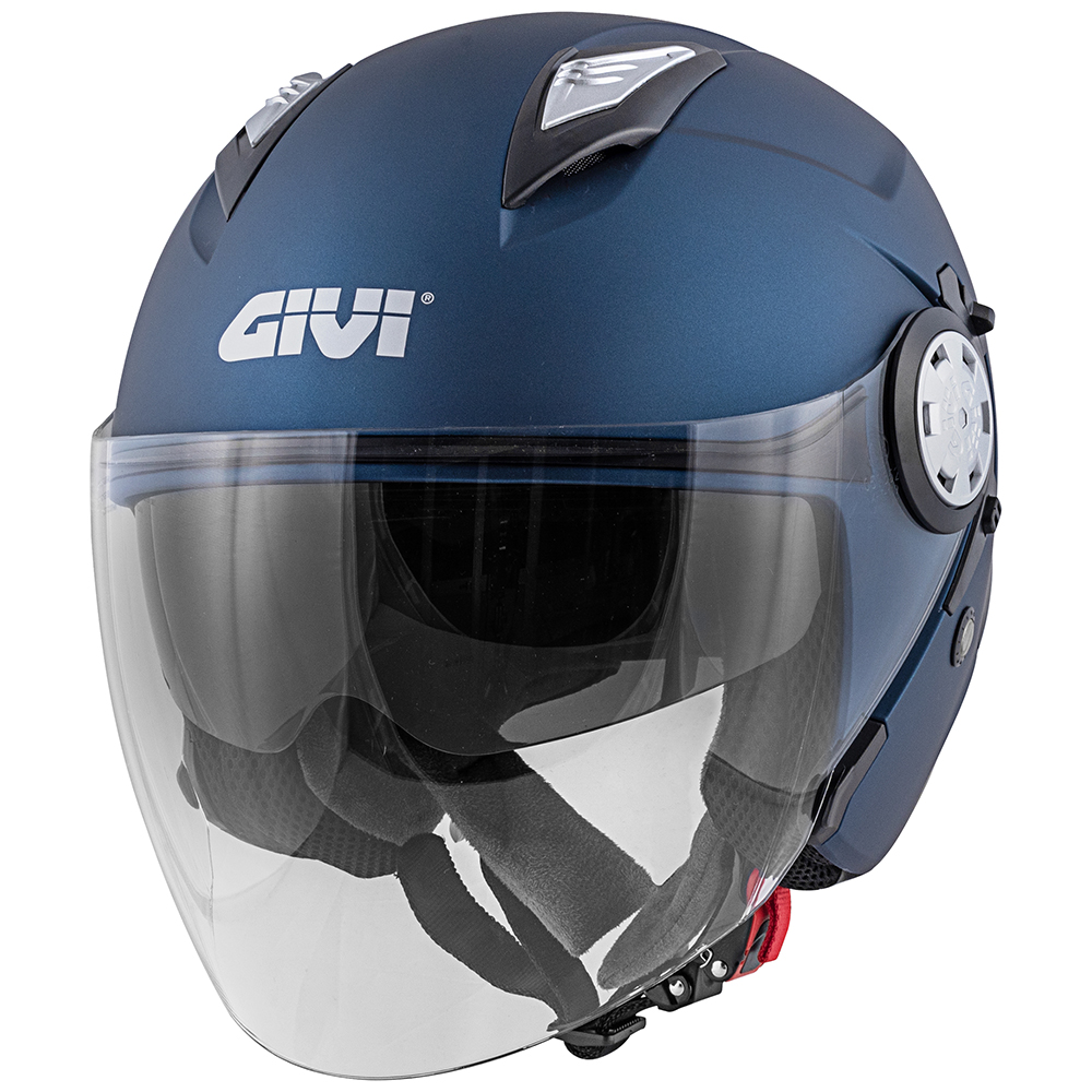 Givi - Caschi Jet per moto e scooter - 12.3 STRATOS SOLID COLOR
