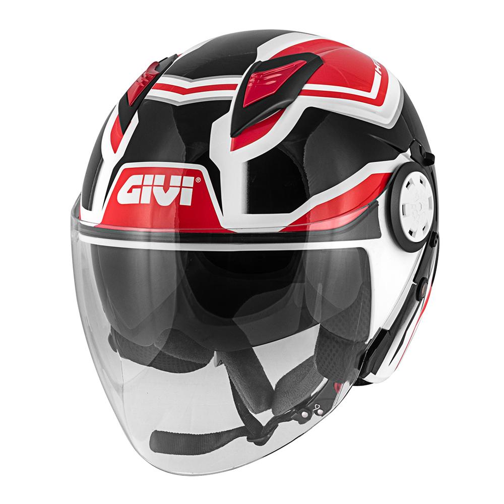 Givi - SDBR Weiß / schwarz / rot
