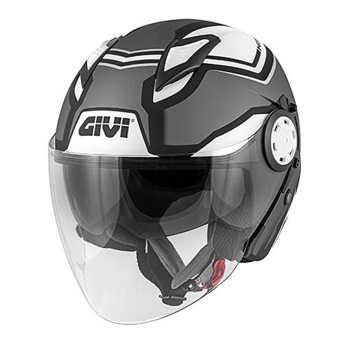 Givi - SDBT Matt titanium/ schwarz / weiß