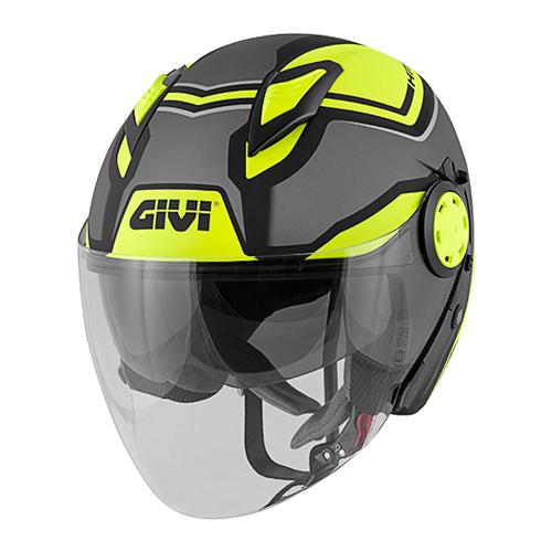 Givi - SDBY Titanio opaco / nero / giallo