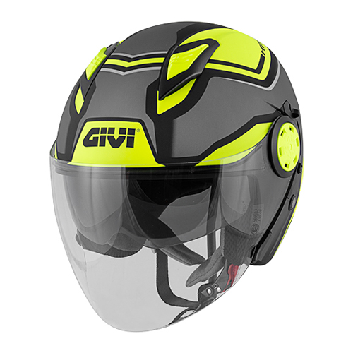 Givi - FSDBY Matt titanium / black / yellow