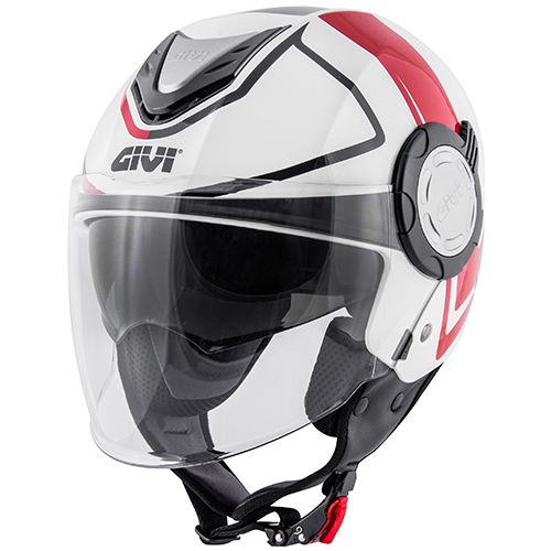 Givi - SSWR White / red