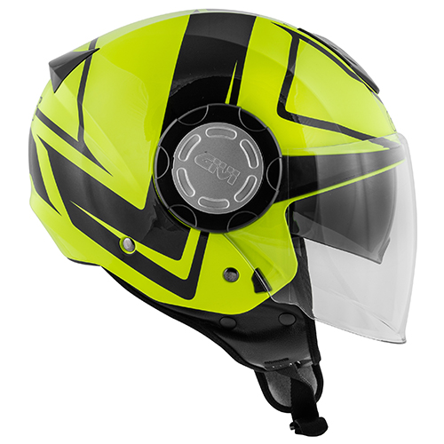 Givi - Caschi Jet per moto e scooter - 12.4 FUTURE STRIPES