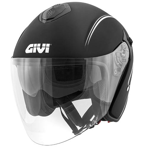 Givi - Jet-Helme - 20.9 FIBER-JET GLIESE