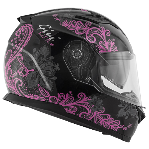 caschi FULL FACE 50.5 TRIDION DECO' LADY
