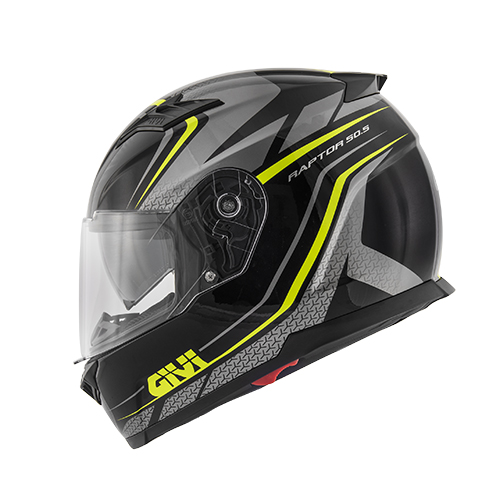 caschi FULL FACE 50.5 TRIDION-RAPTOR