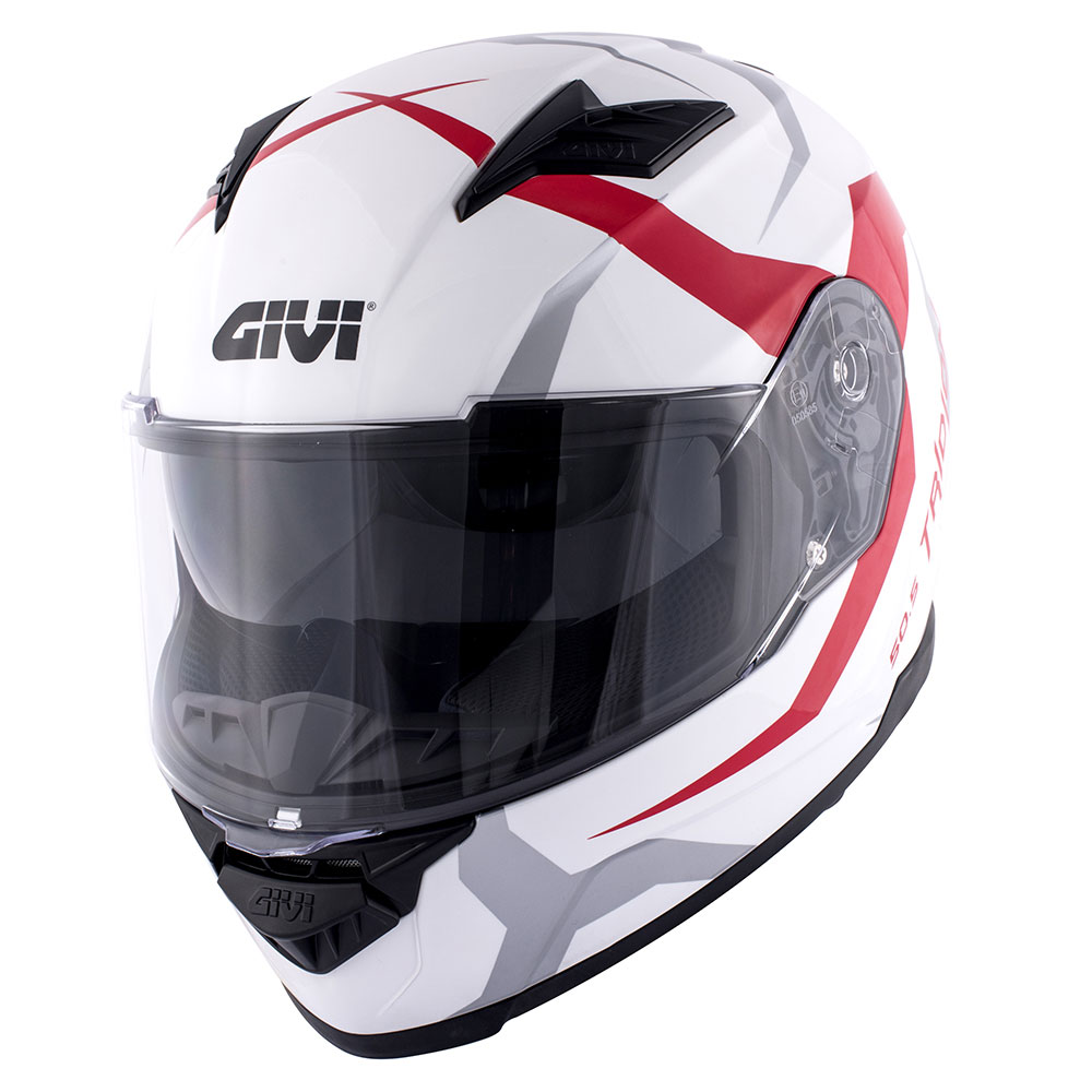 Vortix red / gloss white (VXWR)