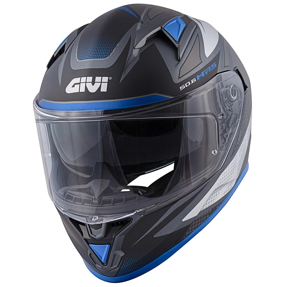 Givi - FWTB Titanio opaco / argento / blu