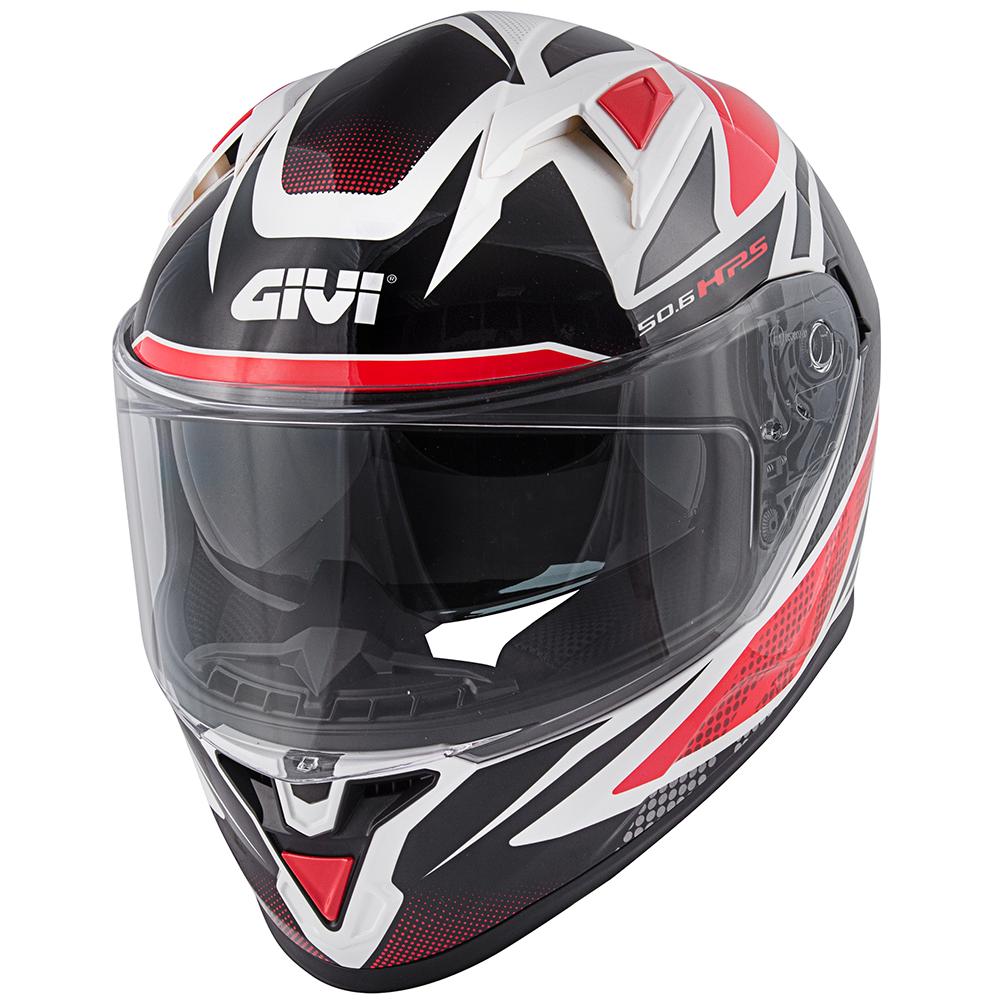 Givi - FWWR weiß / rot / schwarz