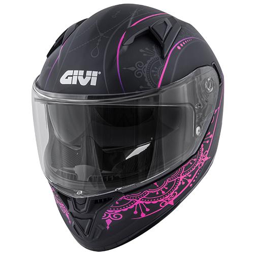 Givi - MDBP Nero opaco / rosa
