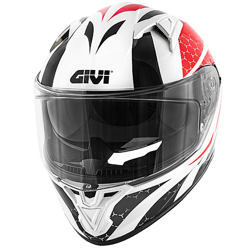 Givi - PSRB White / red / black