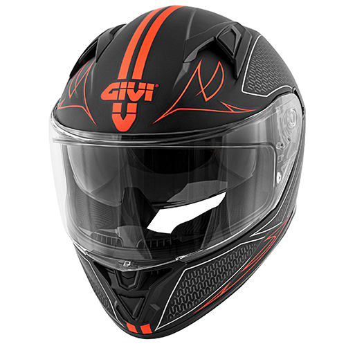 Givi - SNBR Matt black / red