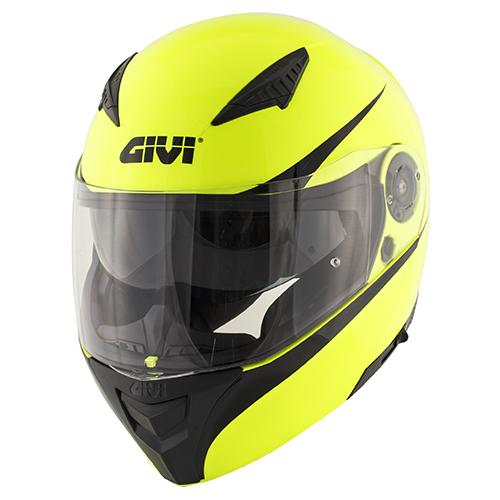 jaune neon / noir (G126)