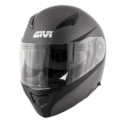 matt titanium / black (G768)