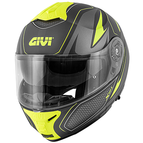 Givi - SHBT Matt black / titanium / yellow