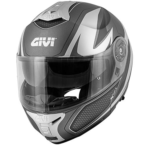 Givi - SHTS matt titanium / silber