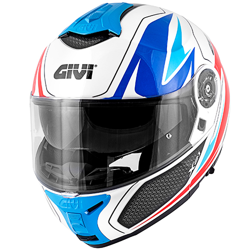 Givi - SHWL White / blue / red