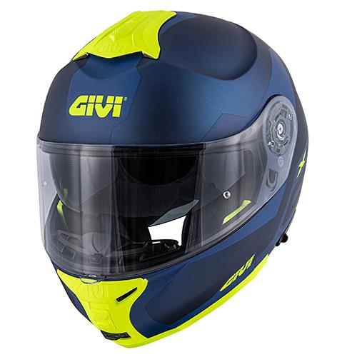 Givi - SRBY Blu opaco / blu scuro / giallo