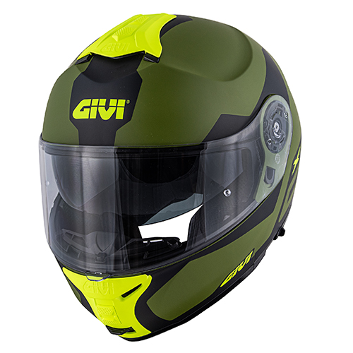 Givi - SRGB Verde opaco / nero / giallo