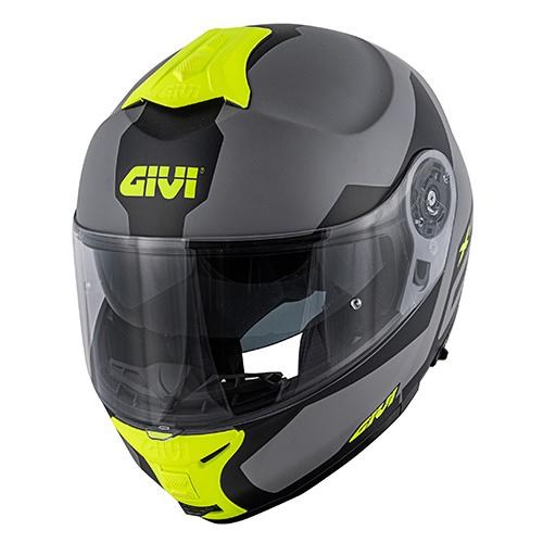 Givi - SRGY Gris mate / negro / amarillo
