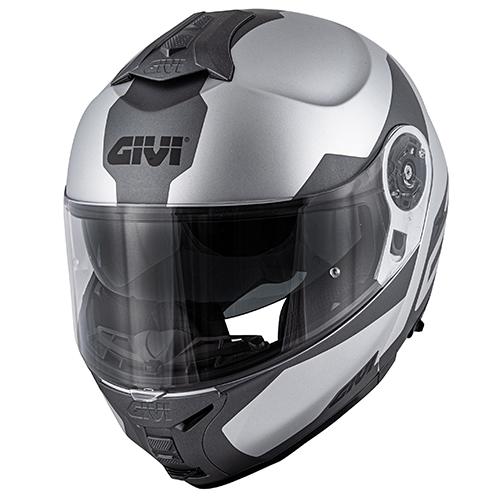 Givi - SRST Plata mate / titanium / negro