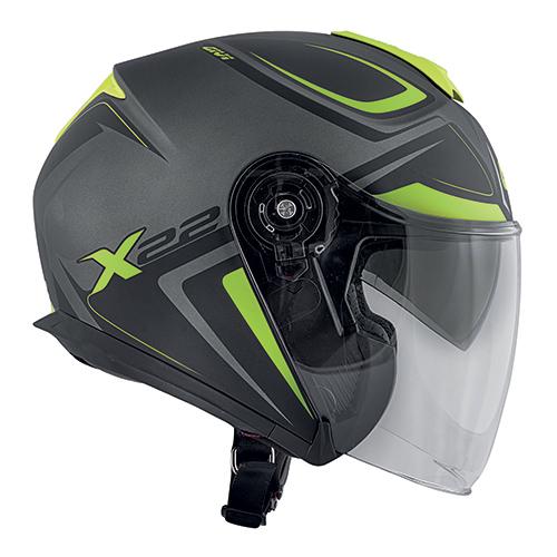 Givi - Caschi Jet per moto e scooter - X.22 PLANET HYPER